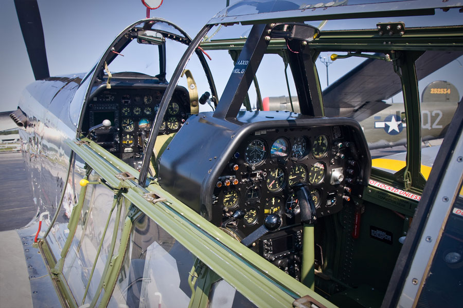 P51D Mustang Engine Sounds No Music  Merlin Engine Start and Gun Port Whistle Sounds