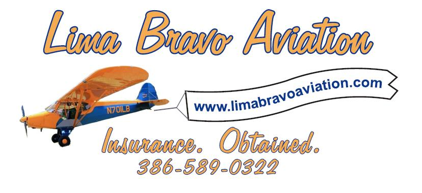 Lima Bravo Aviation Logo