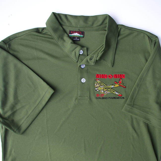 B 17 flying fortress nine 0 nine polo shirt the for The tour jacket polo shirt