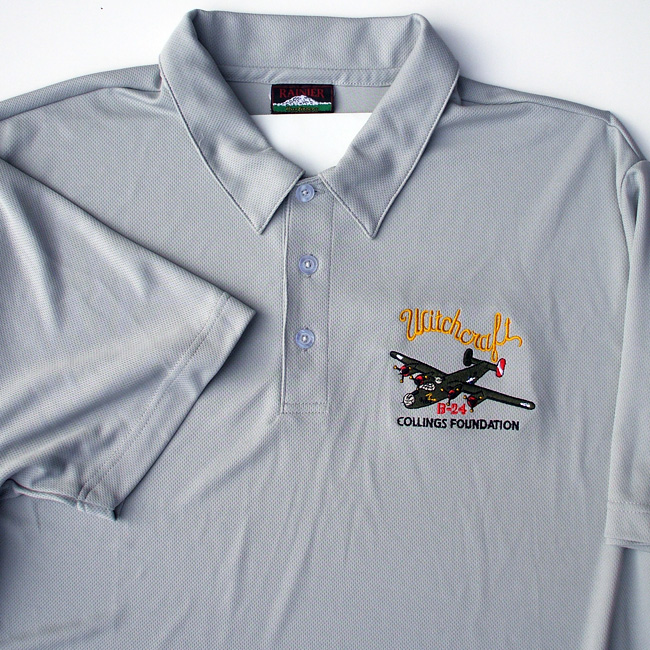 B 24 liberator witchcraft polo shirt the collings for The tour jacket polo shirt