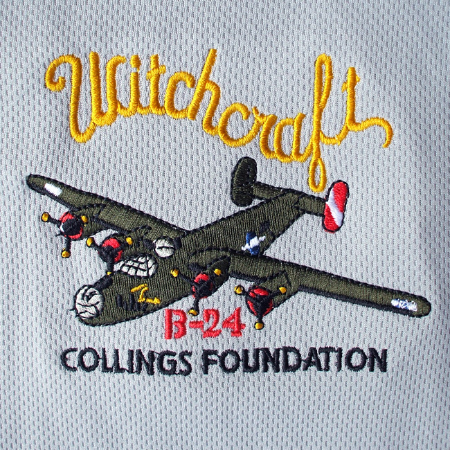 B 24 Liberator Witchcraft Polo Shirt The Collings Foundation