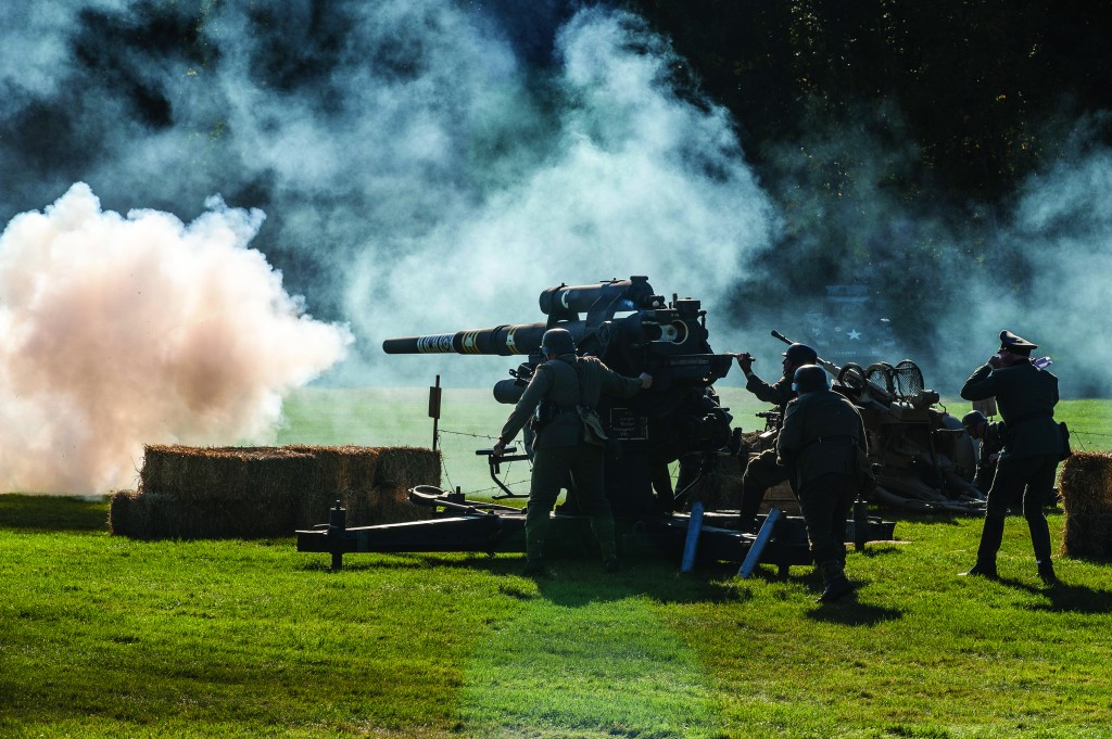 Collings Foundation - Battle for the Airfield - Saturday afternoon battle re-enactment. -