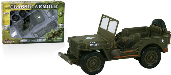 Willys Jeep Ez Build Kit The Collings Foundation