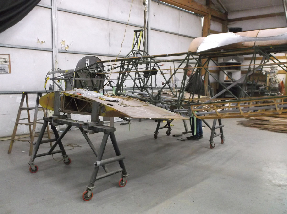 Help Restore the Tuskegee Airmen Fairchild PT-19A to Flying